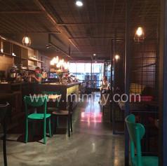 Black Shot Cafe / Nişantaşı - İstanbul Beton Görünümlü Kaplama Uygulaması