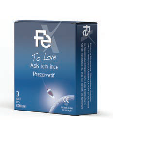 Fe Condom To Love 3 pcs each pack