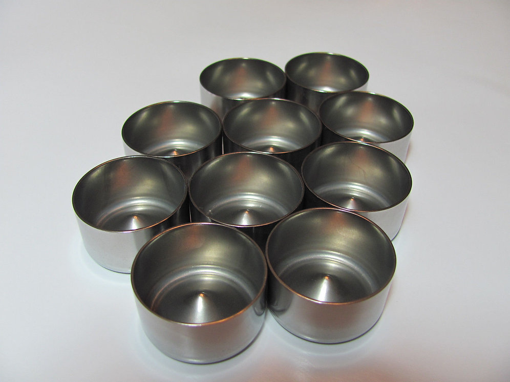 D Cell Stainless Steel Deep Cup Freeze Plugs | Solvent Traps