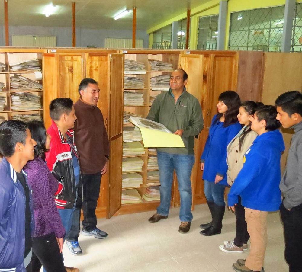 LOJA herbarium, Universidad Nacional de Loja, Ecuador. Photo by Nelson Jaramillo