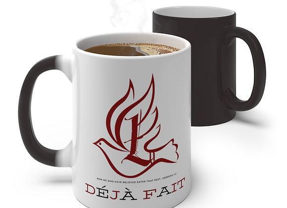 """LDU """"Déjà Fait"""" Color Changing Mug"""