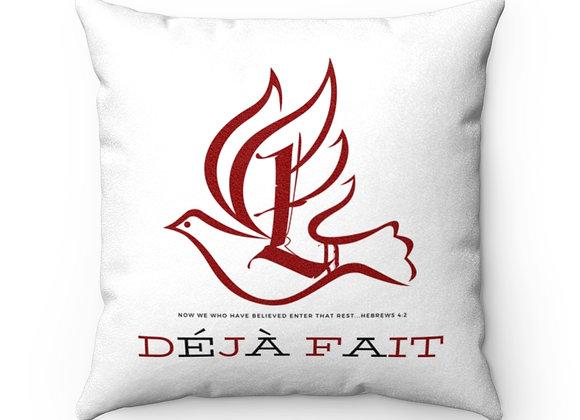 "LDU ""Déjà Fait"" Prayer Pillow"
