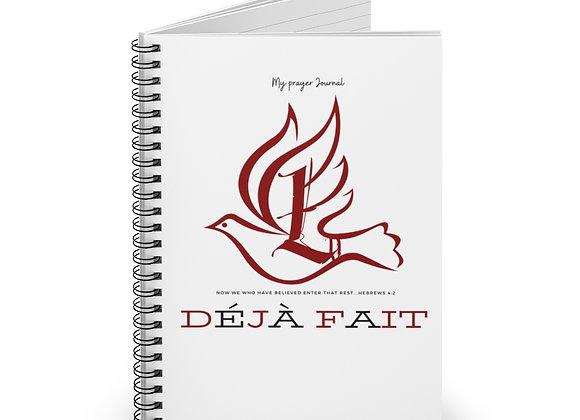 "LDU ""Déjà Fait"" Prayer Journal"