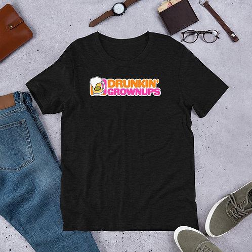 Drunkin Grownups Short-Sleeve Unisex T-Shirt