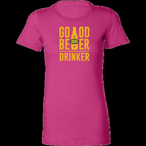 Good Beer Drinker Ladies' Favorite T-Shirt
