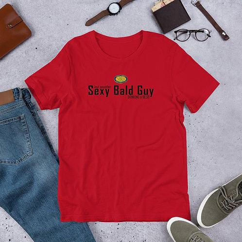 Sexy Bald Guy Short-Sleeve Unisex T-Shirt