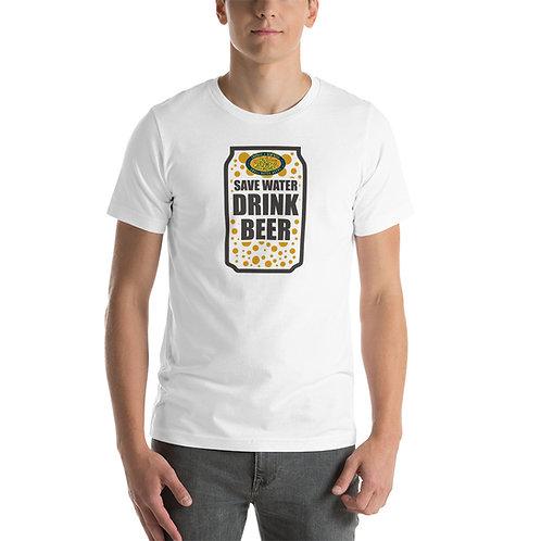Save Water Drink Beer Short-Sleeve Unisex T-Shirt