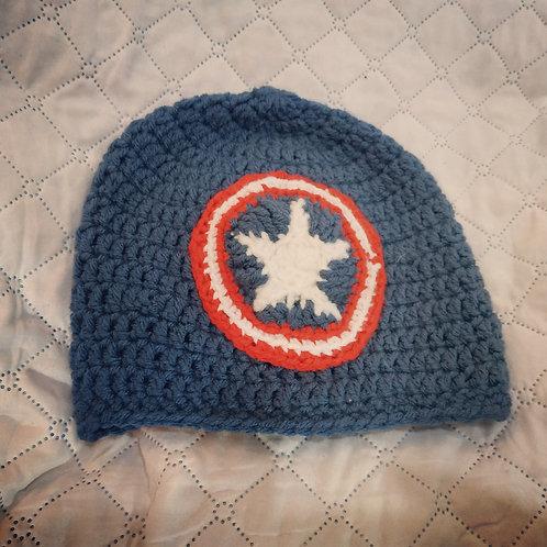 כובע קפטן אמריקה 4-5 שנים