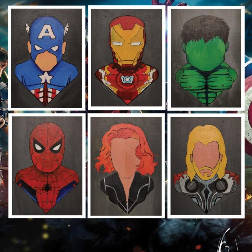Paint your favourite Avenger