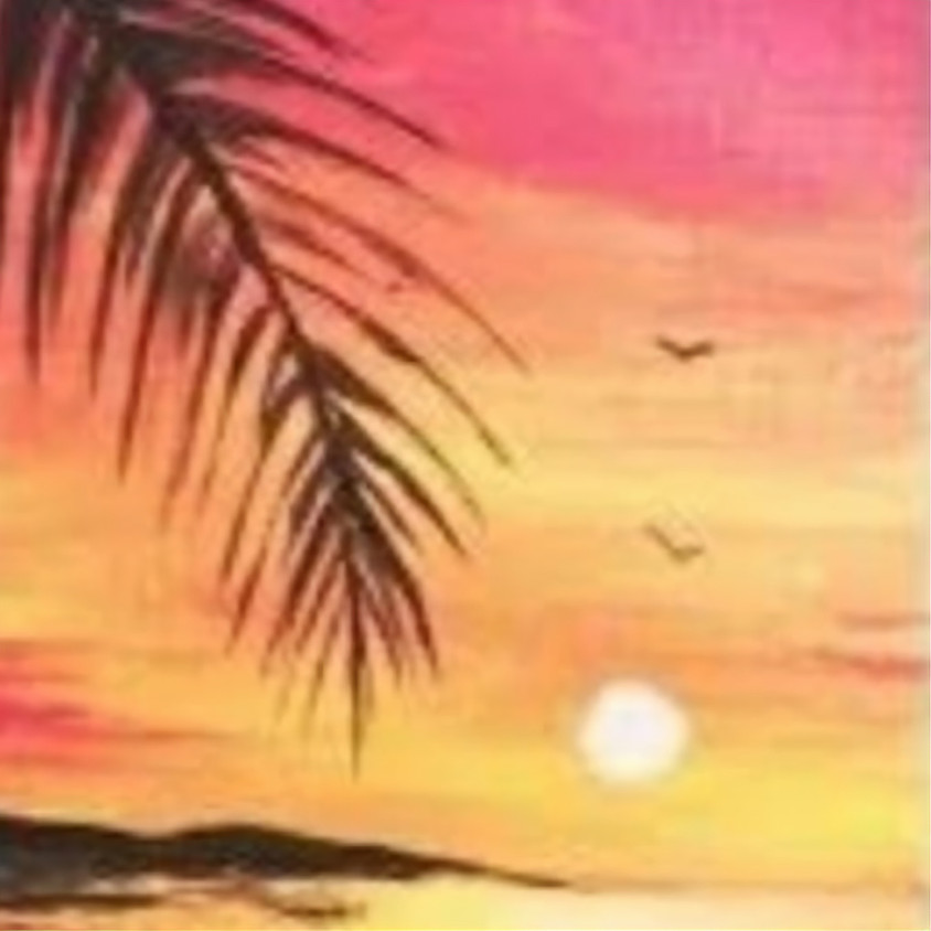 Painting by the sea - Calangute