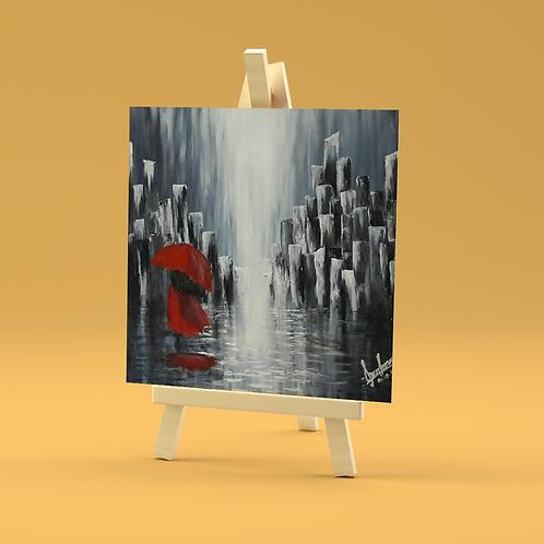The Red Umbrella I