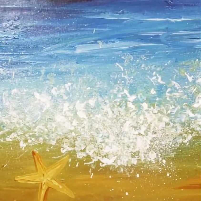 Painting by the sea - Baga