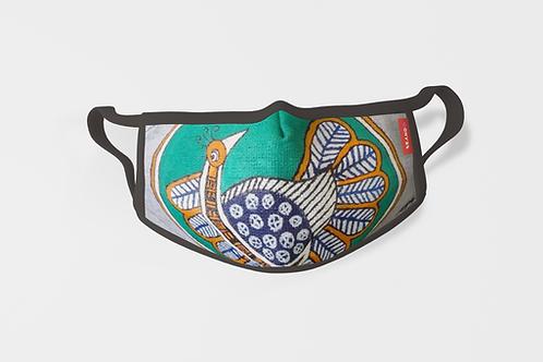 Handpainted Cotton Masks