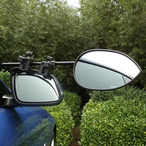 Milenco Aero 3 Mirrors (Twin Pack) Flat