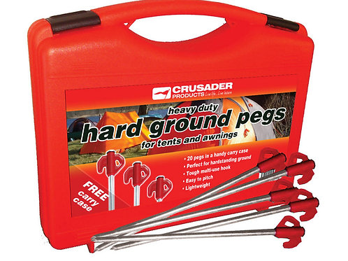 Crusader Hard Ground Pegs (20)