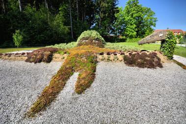 """Unsere Landschafts - Skulptur """"Waldschrat"""""""