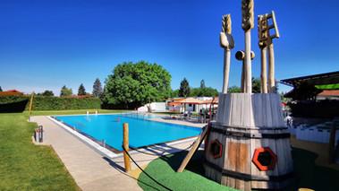 Unser geheizter Swimmingpool