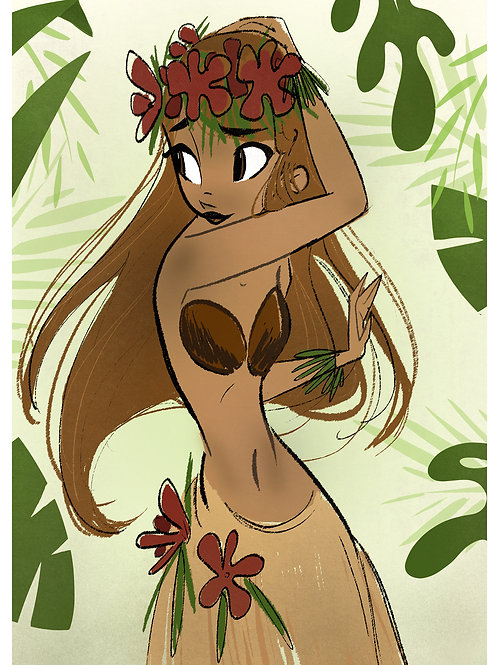 Laka Goddess of Hula