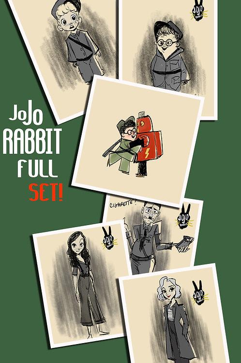 JoJo Rabbit Full Set (Bonus Taika Character Print)