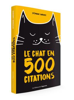 Le chat en 500 citations - Poche