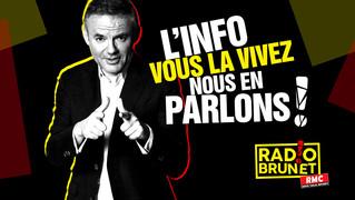 """En direct sur RMC pour Radio Brunet pour """"Super Radin"""""""