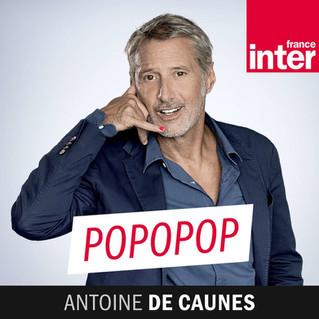 Sur le plateau de Popopop ! Avec Antoine de Caunes pour #agiretpensercommeunchat