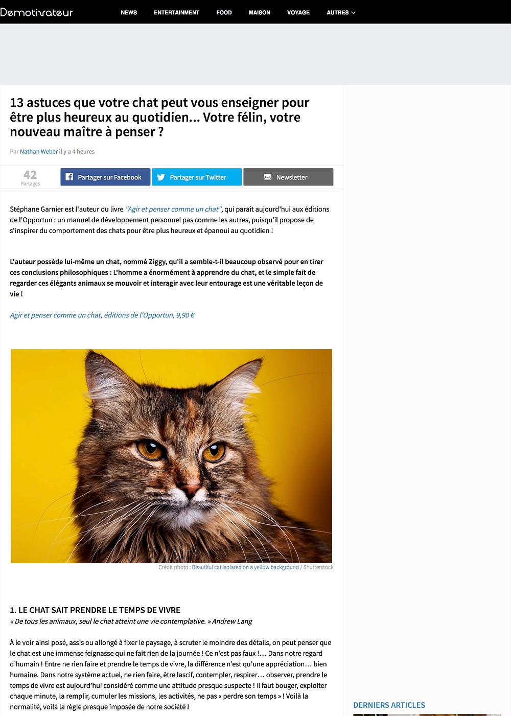 Article complet du Démotivateur >>>