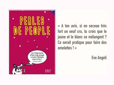 Stéphane Garnier - Perles de People - Humour