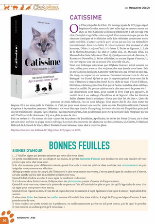 Matou Magazine // Catissime