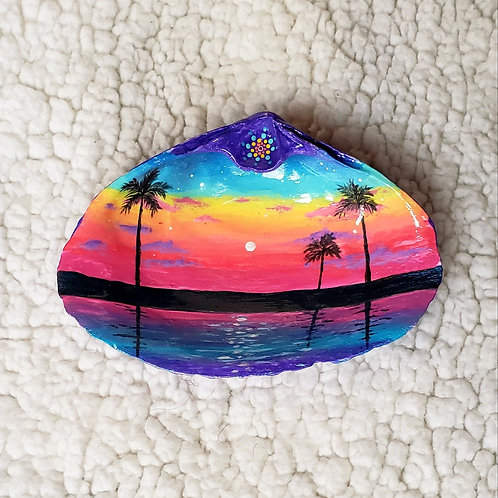 Rainbow Sunset Ring Dish
