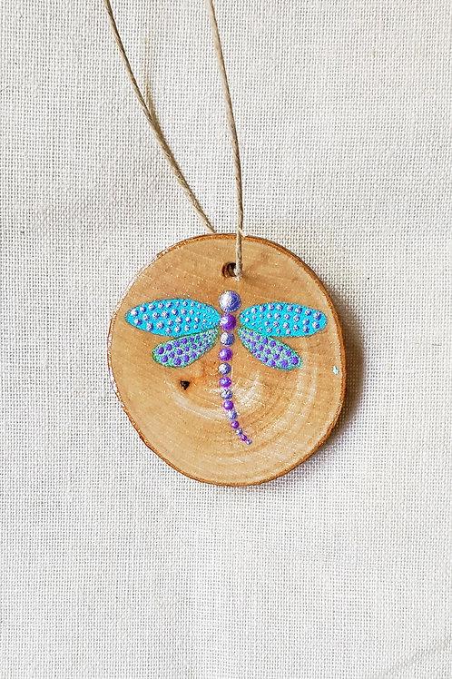 Dot Dragonfly Pendant