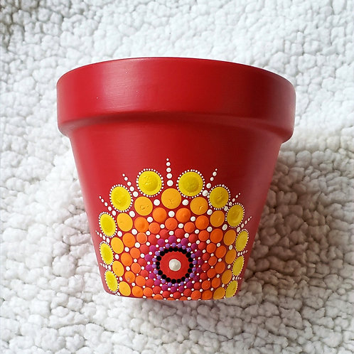 Sunrise Plant Pot