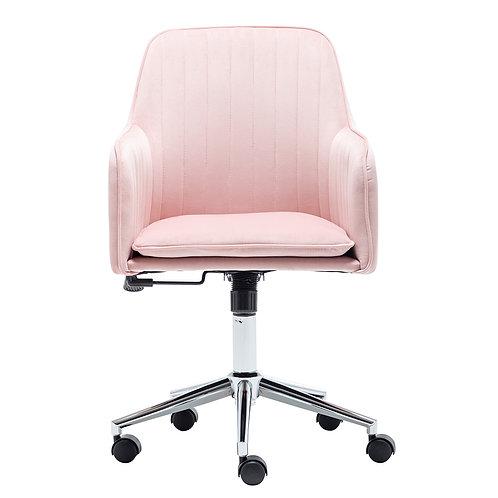 Velvet Upholstered Office Chair