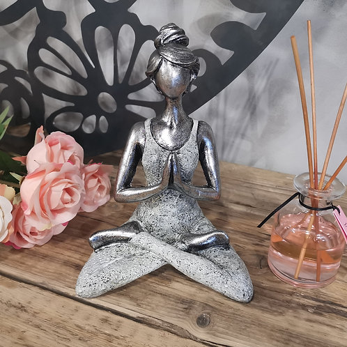 Yoga Lady Figurine - Choice of Colours