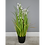 Thumbnail: Large Artificial Potted Grass with Flowers 90cm