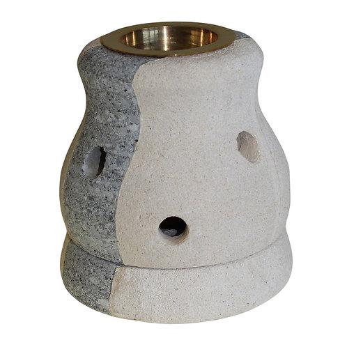 Stone Oil Burner - Combo Shaped