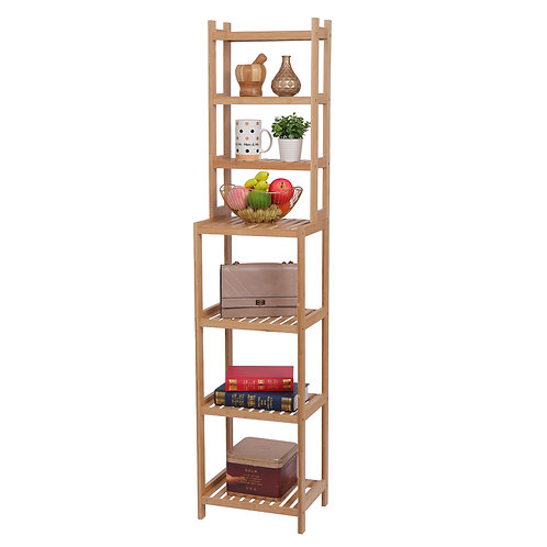 Bamboo 7 Tier Shelf Unit