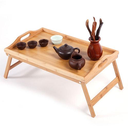 Bamboo Folding Table Tray