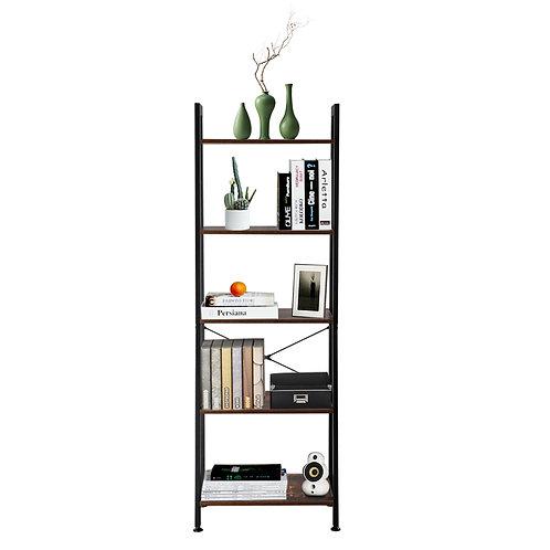 5 Tier Industrial Style Ladder Shelf