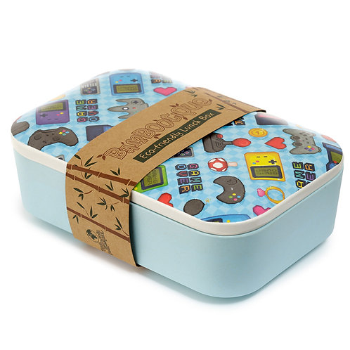 Bamboo Composite Retro Gaming Lunch Box