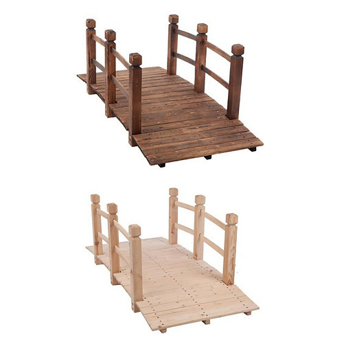 Small Wooden Arch Bridge