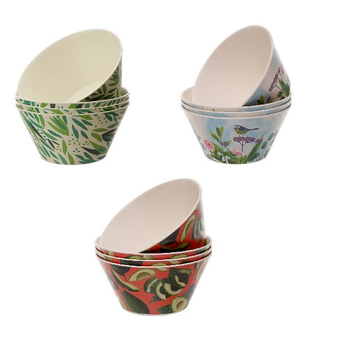 Bamboo Composite Set of 4 Bowls