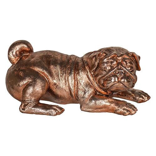Bronze Pug Ornament