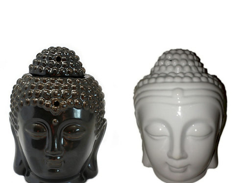 Ceramic Buddha Head Oil / Wax Burner