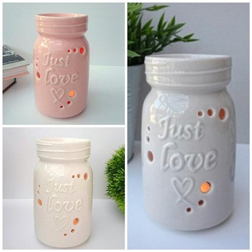 Just Love Ceramic Wax Melter Oil Burner
