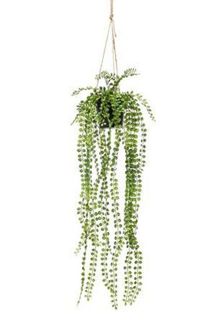 Artificial Ficus Pumila Hanging Plant