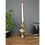 Thumbnail: Antique Gold Giraffe Candle Holder Animal Bust Candlestick