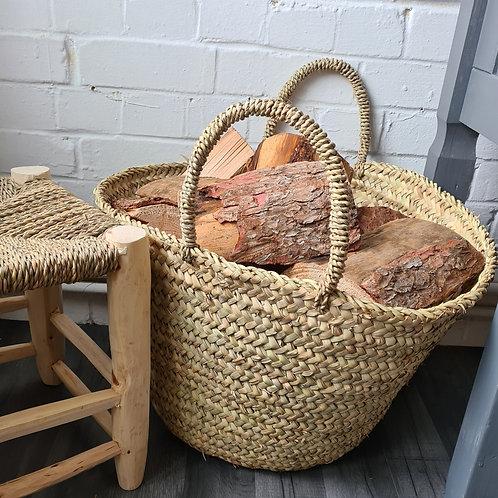 Berber Storage Log Basket