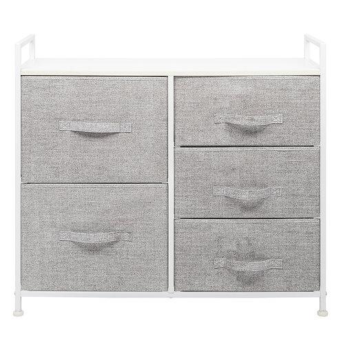 Set of Fabric Drawers - 5 Drawer