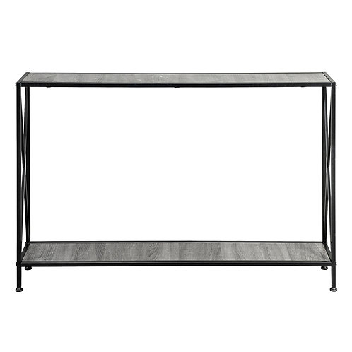 Black & Grey Console Table
